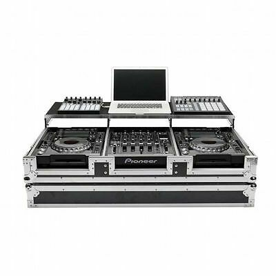Magma CDJ Workstation 2000/900 Nexus Flightcase For Pioneer CDJ2000 & 900 Nex...