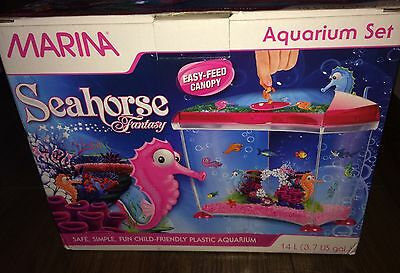 Marina Seahorse Fantasy 14L Aquarium Set, Unused In Box. Free UK P&P!