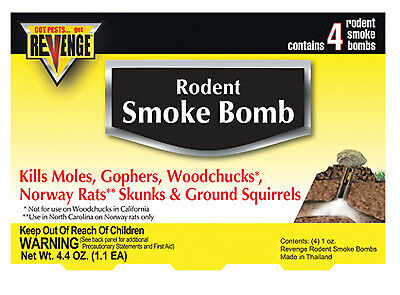 BONIDE PRODUCTS INC - Gopher Gasser, 4-Pk.