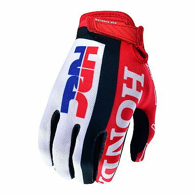 IT NEW 2016 TROY LEE DESIGNS Guanti TLD Guanto HONDA HRC AIR MOTOCROSS MX GLOVES