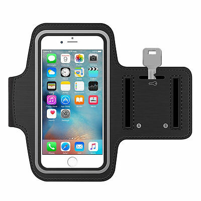 For Apple iPhone 7 Plus 5.5 Sports Gym Running Jogging Armband Case Cover Holder