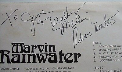 Marvin Rainwater Some Old Some New Especially For You Wrs101 Nm Vg Signed