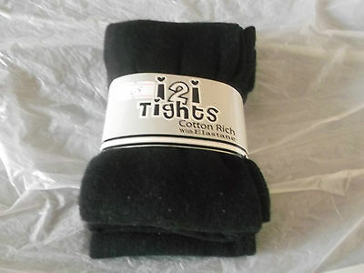 New Girls Black Warm Tights Lots Sizes