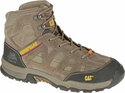 Caterpillar CAT Structure Mid S3 SRA brown safety boot & midsole size 6-12
