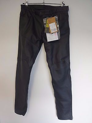Dainese P. Trophy Evo Pelle Leather Trousers Black