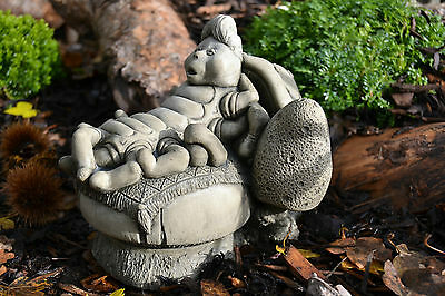 Alice Adventures in Wonderland/The Caterpillar/Garden Ornament/Stone/Gift