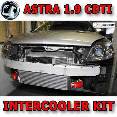 Vauxhall Zafira Astra H 1.9 CDTI Intercooler Kit + Pipework - Blue