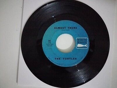 """7"""" THE TURTLES - ALMOST THERE. 60's classic USA Garage, pop dancer, Nuggets..."""