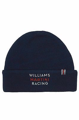 Williams Martini Racing F1 Official Team Beanie hat