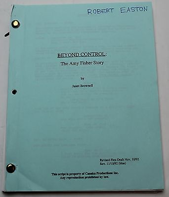 The Amy Fisher Story * 1992 Movie Script * Drew Barrymore as a Long Island teen