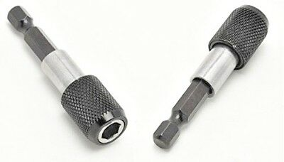 """1/4"""" Impact Drive Shank Chuck Quick Connect Adapter for Hex Bit Drill Heads"""