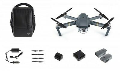 DJI Mavic Pro Drone with 4K HD Camera Fly More Combo Pack