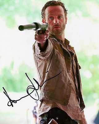 Andrew Lincoln - Rick Grimes - The Walking Dead - Signed Autograph REPRINT