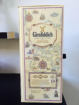 UNIQUE Glenfiddich Empty Gift Box - Age of Discovery
