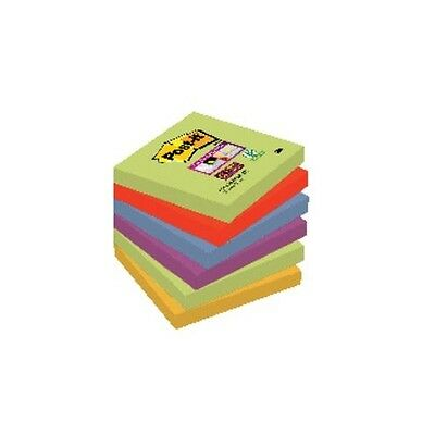 Pack 6 post-it note adesive marocco 76x76mm