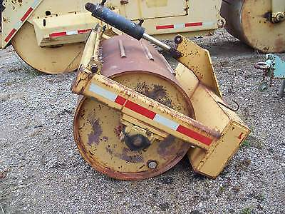 "48"" Single Drum Pull Behind Rumble Strip Roller Soil/stone/asphalt Roller"