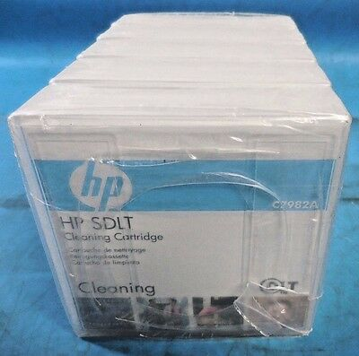 HP C7982A SDLT Cleaning Cartridge Lot of 5