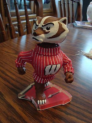 Bucky Badger UW Bobblehead - Numbered/Limited - University of Wisconsin Mascot