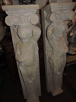 Antique Style Wall Brackets Faux Stone