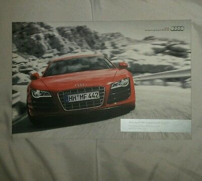 Audi R8 Coupe & Spider brochure Oct 2011
