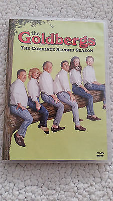 THE GOLDBERGS The Complete Second Season 2 DVD 3-Disc Set Brand New & Sealed USA
