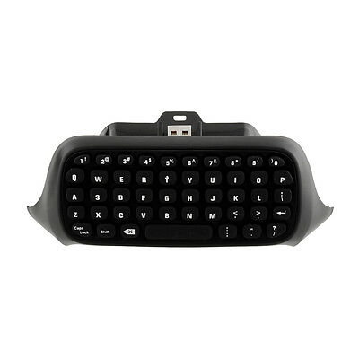 Black Wireless Game Messenger Chatpad Keyboard For Xbox one Controller Portable