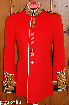 Scots Guards Officers Named Full Dress Tunic