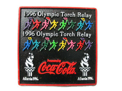 Coca-Cola 1996 Olympic Torch Relay Magnet - FREE SHIPPING
