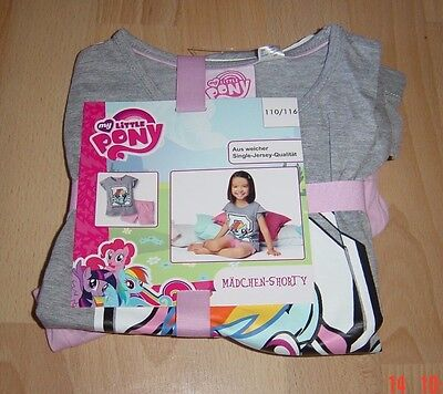 My little Pony Mädchen Shorty Set,Gr.110/116,NEU!