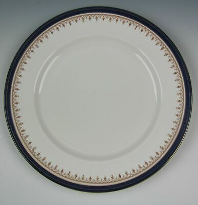 Aynsley China LEIGHTON-COBALT (smooth) Dinner Plate(s) EXCELLENT