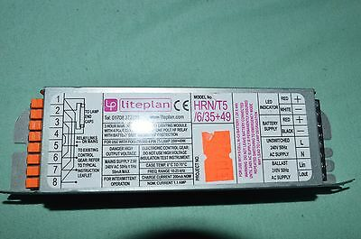 LITEPLAN HRN/T5/6/35+49  -  T5 35W 49W Lamp Emergency Inverter Module - *NEW*