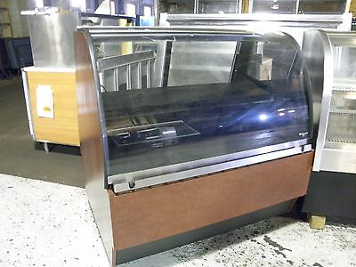 "Structural Concepts Renaissance 48"" Curved Glass Pastry Deli Meat Display Case"