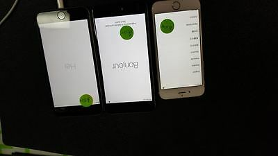 iPhone 6 Plus 16gb  Locked qty.1 a1549 and ( 1 a1524) (1 a1522)Read description