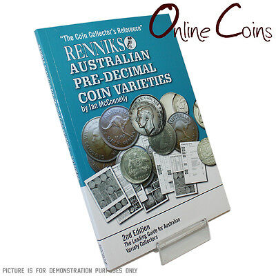 Renniks Australian Pre-Decimal Coin Varieties - 2nd Edtition Excellent Reference