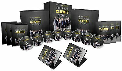 Secrets to Getting High Paying Clients - ebook Plus Video Training on CD!