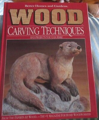 Wood Carving Patterns And Techniques Book