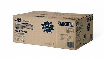 Carton - Tork Sca Advanced H3 Hand Towel Zigzag in White - Paper Towels