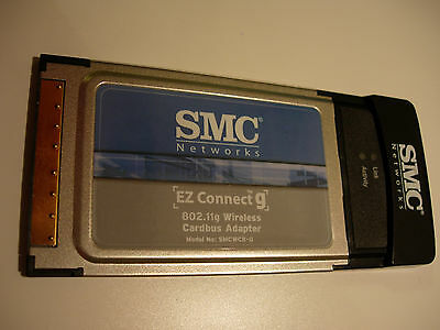 SMC Networks EZ Connect G WLAN Cardbus 802.11g