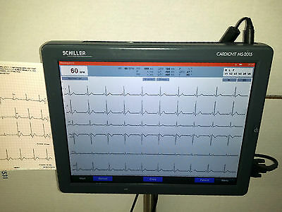 Schiller Cardiovit Ms-2015 Ekg Machine With Interpretation