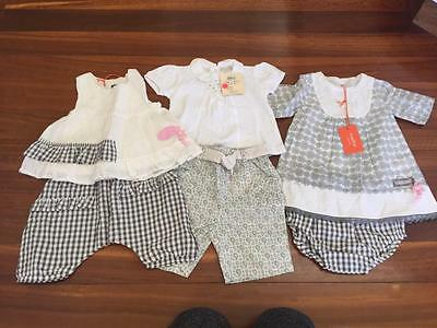 ALL NEW Baby Girl Gorgeous  Bulk French Brand Summer Outifts Size 6 mths