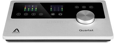 Apogee Quartet Usb Audio Interface For Mac And Ios 805676301136 New