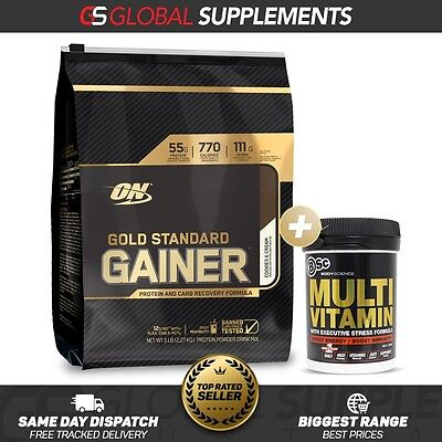 Optimum Nutrition Gold Standard Gainer Protein 5Lb Lean Mass Muscle Gainer