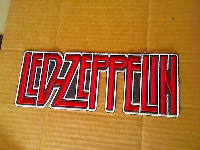 Led Zeppelin,sew On Embroidered Large Back Patch