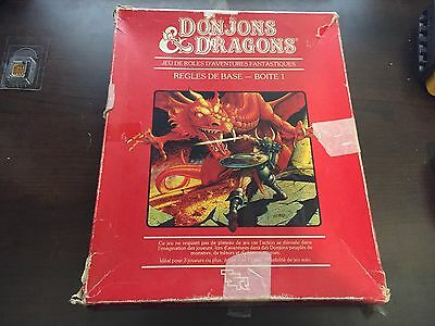 Donjons et Dragons Regles de Base Boite 1 Rouge 1983 1011 Dungeons and Dragons