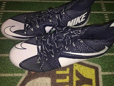 Cole Beasley Dallas Cowboys Game Used Worn Nike Cleats 11 WR SMU Mustangs
