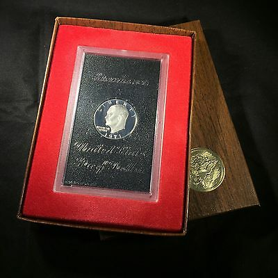 1971-S United States Eisenhower Silver Proof $1 One Dollar