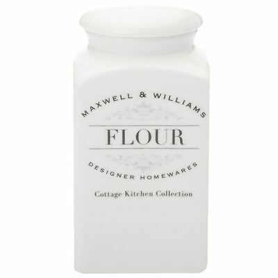 NEW Maxwell & Williams Cottage Kitchen Flour Canister, 1L