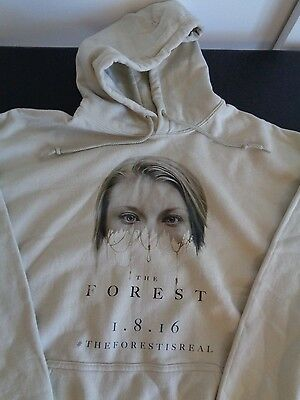 THE FOREST IS REAL Movie PROMO Hoodie XL Sweatshirt NATALIE DORMER Free Shipping