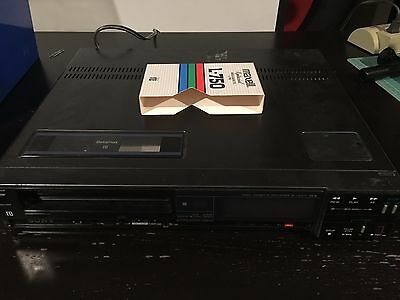 Vintage Sony Sl-HFR70 Super Betamax Tape Player Not Working