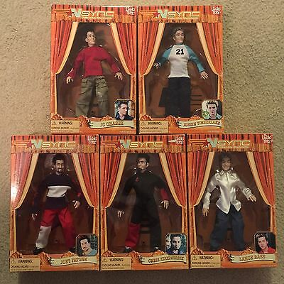 Nsync collectible marionette by Living Toyz NIB